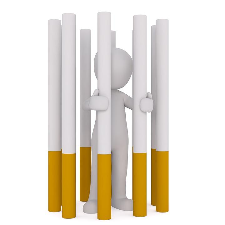 Prisonnier de la cigarette