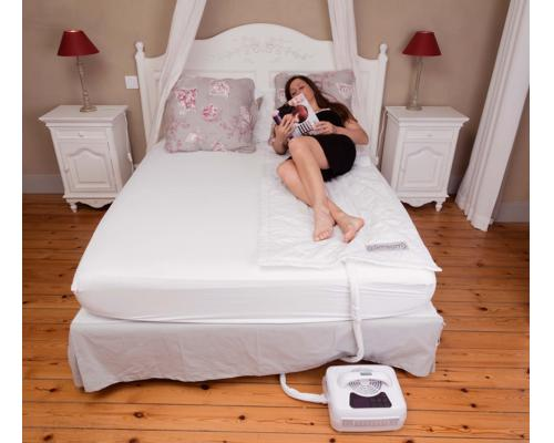 Climsom cooling and warming mattress topper