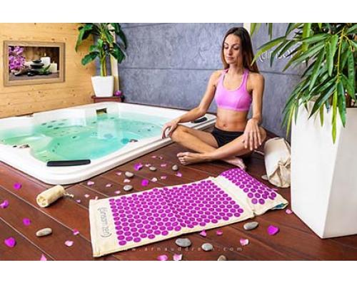 tapis d'acupression yoga
