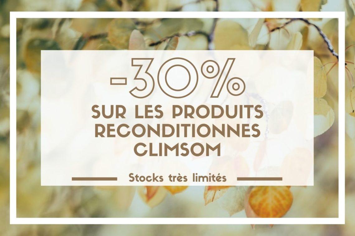 Produits reconditionnés Climsom