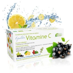 complément alimentaire naturel et biologique Equilibre Vitamine C