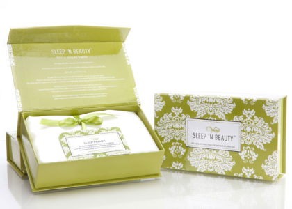 Taie en soie Sleep'n'Beauty par Climsom