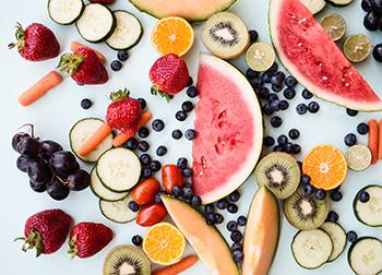 fruits et légumes anti-oxydants