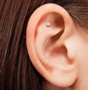 oreille avec aimants anti tabac