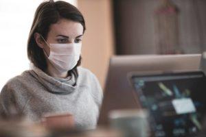 masque au travail