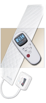 Climsom Cooling and warming mattress topper - Relieves heavy legs