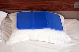 climsom sur oreiller rafraichissant coolpad gel. Black Bedroom Furniture Sets. Home Design Ideas