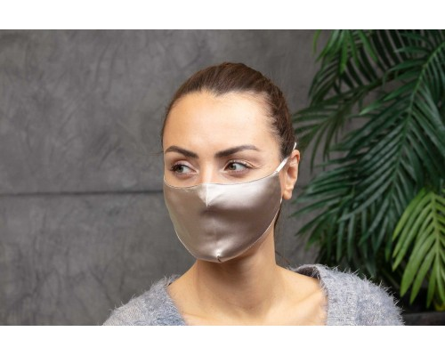 Masque de protection en soie
