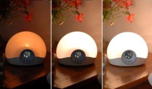 climsom simulateur d 39 aube lumie 30 un r veil naturel et en douceur. Black Bedroom Furniture Sets. Home Design Ideas