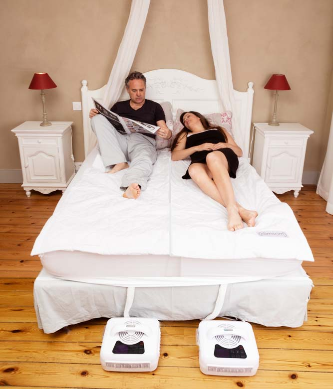 surmatelas couple